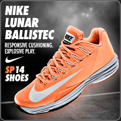 Shop Nike Tennis Shoes for Spring 2014 - the Gear of Federer, Nadal, Sharapova, Serena!