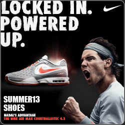 Shop New Nike men's, women's and kids tennis shoes for Summer 2013. As worn by Federer, Nadal, Sharapova, and Azarenka