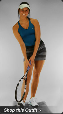 Nike Advantage Tank and Seamless Skirt Tennis Outlet