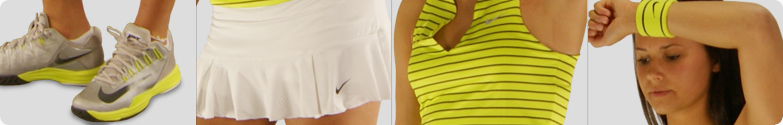 Nike Stripe Pure Tank Tennis Outfit