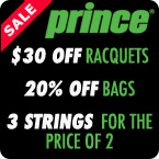 Prince Tennis Deals