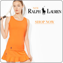 Shop Ralph Lauren New Women's tennis apparel fall 14 line