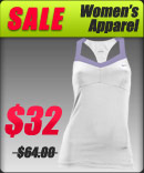 Great finds and great deals on sale women's tennis apparel