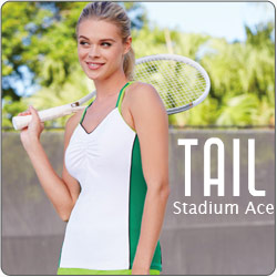Shop Tail Women's Stadium Ace Tennis apparel