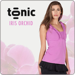 Shop New Tonic Iris Orchid women's tennis apparel for Fall 2014