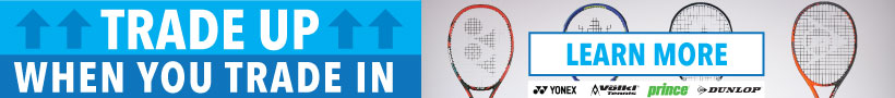 Trade Up Trade In Tennis Racquet Program