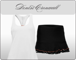 Denise Cronwall Tennis Apparel