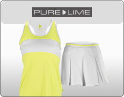 Pure Lime Women's Tennis Apparel