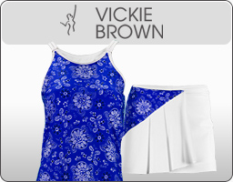 Vickie Brown Women's Tennis Apparel