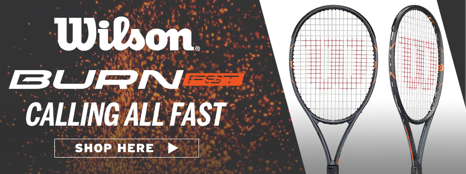 Shop Wilson Burn Racquets and More
