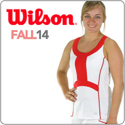 Shop Wilson New Women's tennis apparel fall 14 line