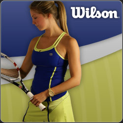 New Wilson women's tennis apparel