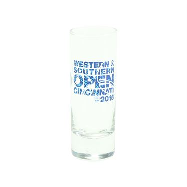 Western and Southern Open Shot Glass