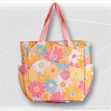 Jet Pac Daisy Grace JetSetter Tennis Tote