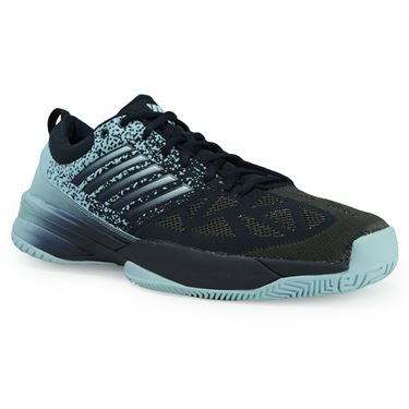 K Swiss Knitshot Mens Tennis Shoe - Black Iris/Blue Glow
