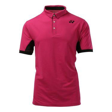 Yonex US Open Wawrinka Day Session Polo - Dark Pink
