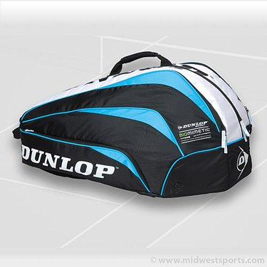 Dunlop Biomimetic Blue 10 Pack Tennis Bag