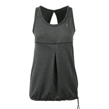 Head Herringbone Blouson Tank - Black