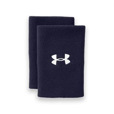 Under Armour 6 Inch Performance Wristband - Midnight Navy