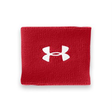 Under Armour 3 Inch Performance Wristband - Red