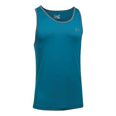 Under Armour Tech Tank - Bayou Blue