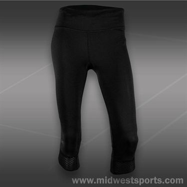 Under Armour Fly By Compression Capri -Black