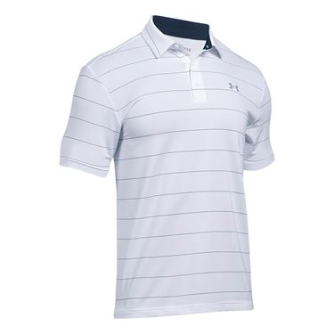 Under Armour Playoff Polo - White/Steel