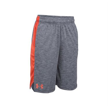 Under Armour Boys Eliminator Printed Short - Stealth Grey