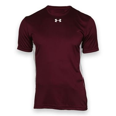 Under Armour Team Zone Crew - Maroon/White
