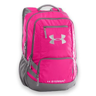 Under Armour Hustle Backpack II - Tropic Pink