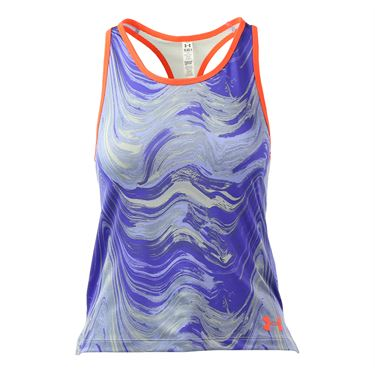 Under Armour Girls HeatGear Loose Tank - Purple Ice