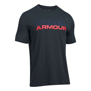 Under Armour Wordmark Tee - Anthracite