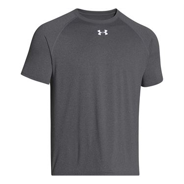 Under Armour Team Locker Crew - Carbon Heather/White
