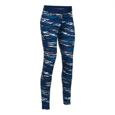 Under Armour Girls HeatGear Printed Legging - Lapis Blue/Midnight Navy