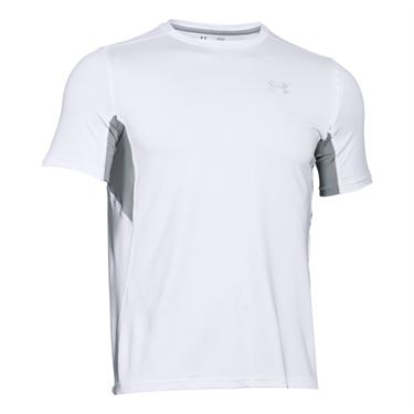 Under Armour Coolswitch Run Crew - White/ Steel