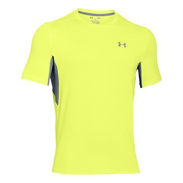 Under Armour Coolswitch Run Crew - X-Ray/ Glacier Gray