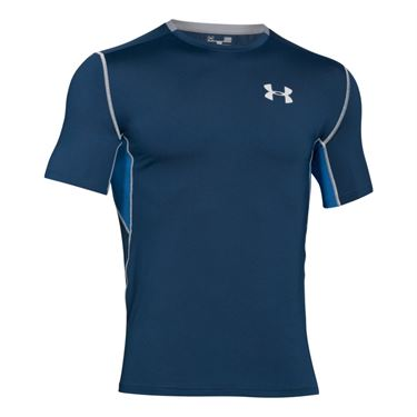 Under Armour Coolswitch Run Crew - Fire/ Squadron