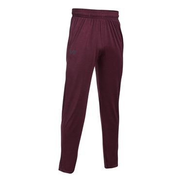 Under Armour Tech Pant - Raisin Red/Stealth Gray