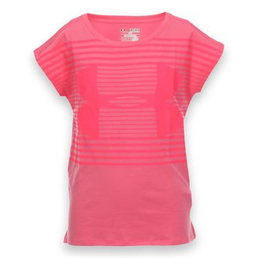 Under Armour Girls Riptide Tee - Punk Pink