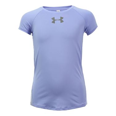 Under Armour Girls Coolswitch Top - Purple Ice