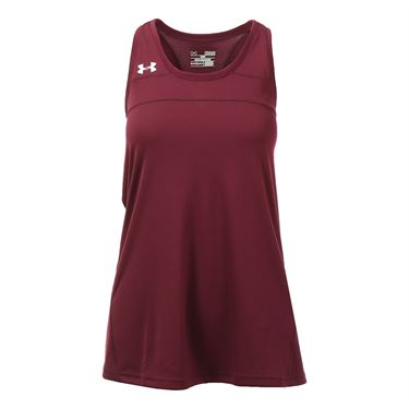 Under Armour Match Up Tank - Maroon
