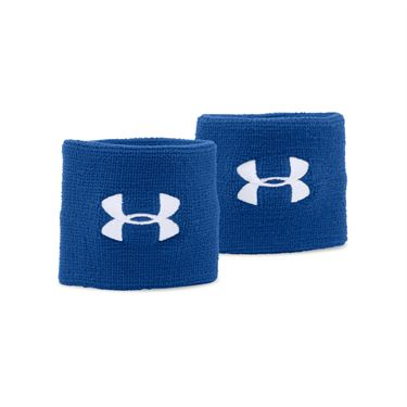 Under Armour Performance Wristbands - Royal/White