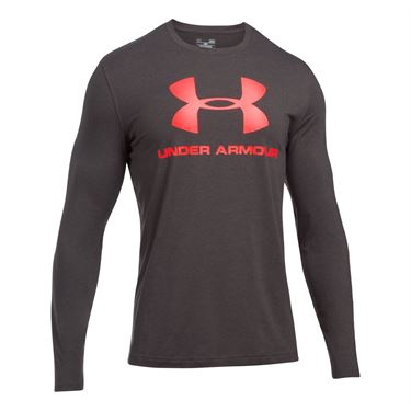 Under Armour Sportstyle Long Sleeve - Charcoal Heather