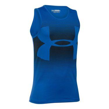 Under Armour Boys Novelty Big Logo Tank - Ultra Blue