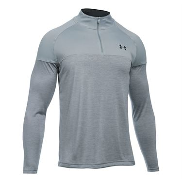 Under Armour Tech Novelty 1/4 Zip - Steel Grey