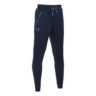 Under Armour Boys Pennant Tapered Pant - Midnight Navy/Graphite/Steel