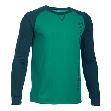 Under Armour Boys Waffle Crew - Geode Green