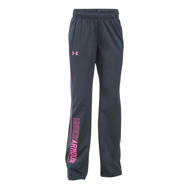 Under Armour Girls Rival Training Pant - Stealth Grey