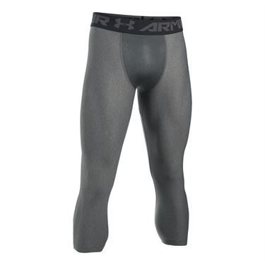 Under Armour Heatgear 2.0 3/4 Legging - Carbon Heather/Black