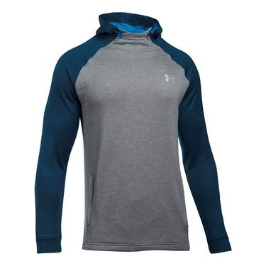 Under Armour Tech Terry Popover - True Grey Heather